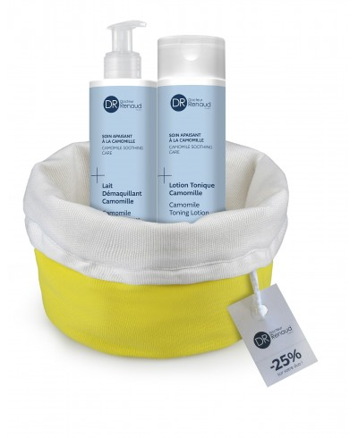 -30% DUO DEMAQUILLANT APAISANT CAMOMILLE