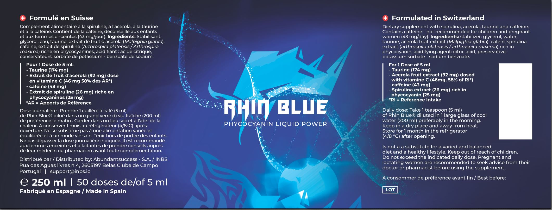 RYIN BLUE INBS