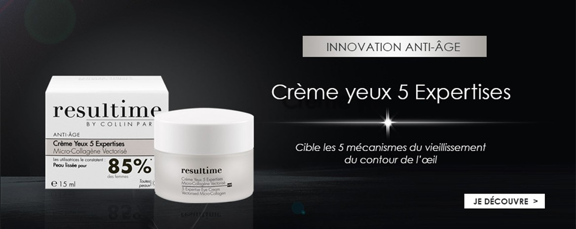 Créme yeux 5 expertises resultime